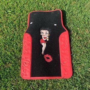 New Betty boop car mats. Set of 2